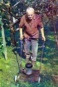 Газонокосилка для ухода за травами