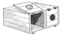 Гнездо из ящиков