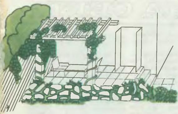 Место отдыха (на ровном участке)