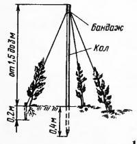 Опора типа «пирамида»