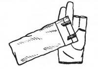 Перчатка для облепихи