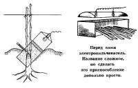 Электрокильчеватор для ранних прививок в корне штамб