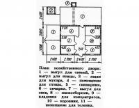 План хозяйственного двора