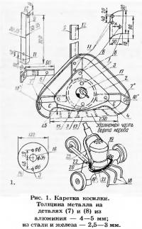 Самодельная косилка из электрополотера ЭПМ-2