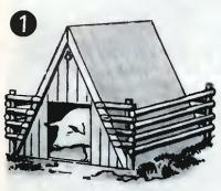 Рис. 1. Летние дачки для поросят