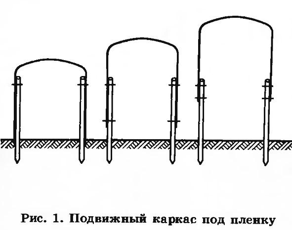 Рис. 1. Подвижный каркас под пленку