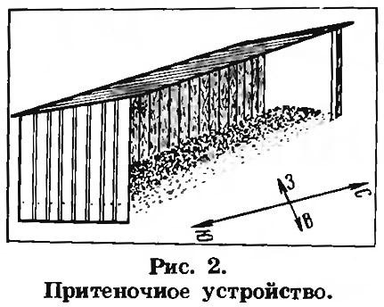 Рис. 2. Притеночное устройство