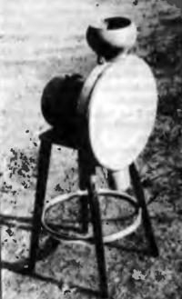 Рис. 3. Второй вариант крупомельницы (слева)