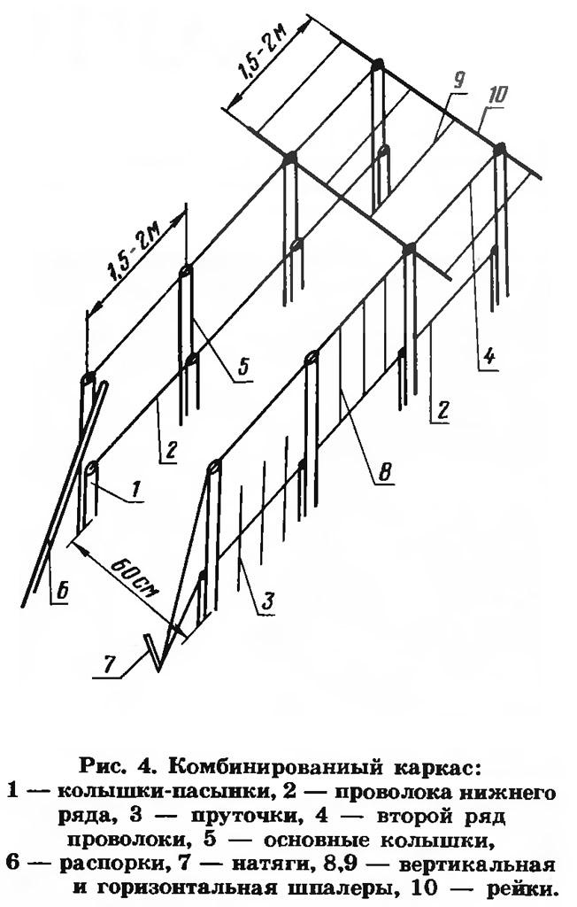 Рис. 4. Комбинированный каркас