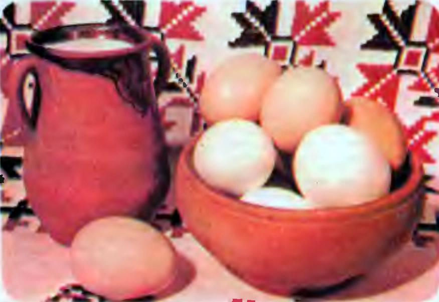 Яйца плимутроков
